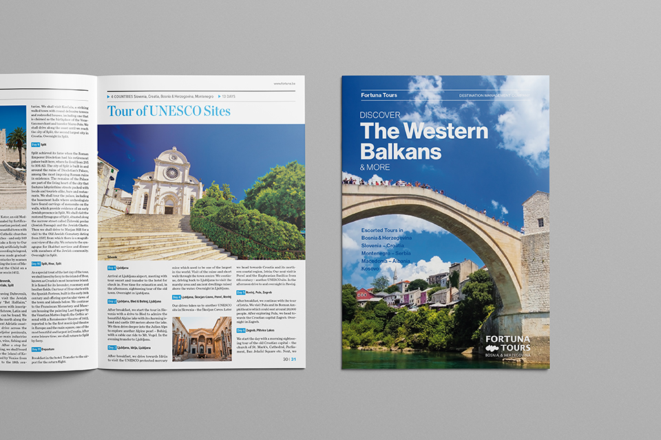 Fortuna Tours - Katalog Discover The Balkans